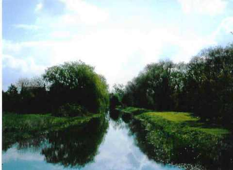 The Ouse at Olney - a quiet meandering river